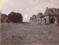 General view of the Chaurasi Gumbaz, Kalpi, Jalaun District.